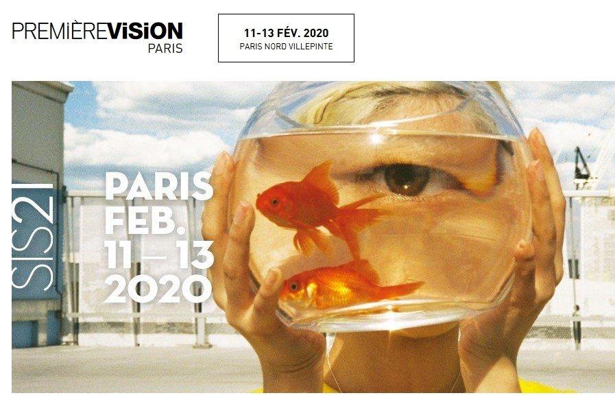 Première Vision – PARIS du 11 au 13 février 2020