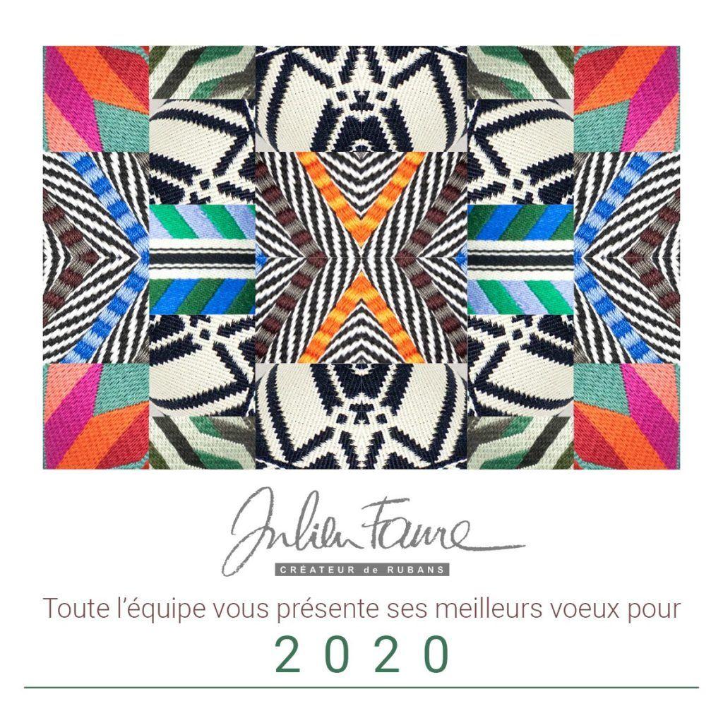 L'équipe de JULIEN FAURE vous présente tous ses meilleurs vœux pour cette nouvelle année 2020